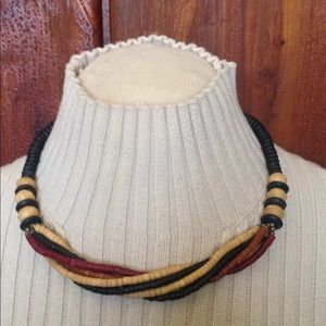 """Jewelry - Wooden Beads Necklace 
